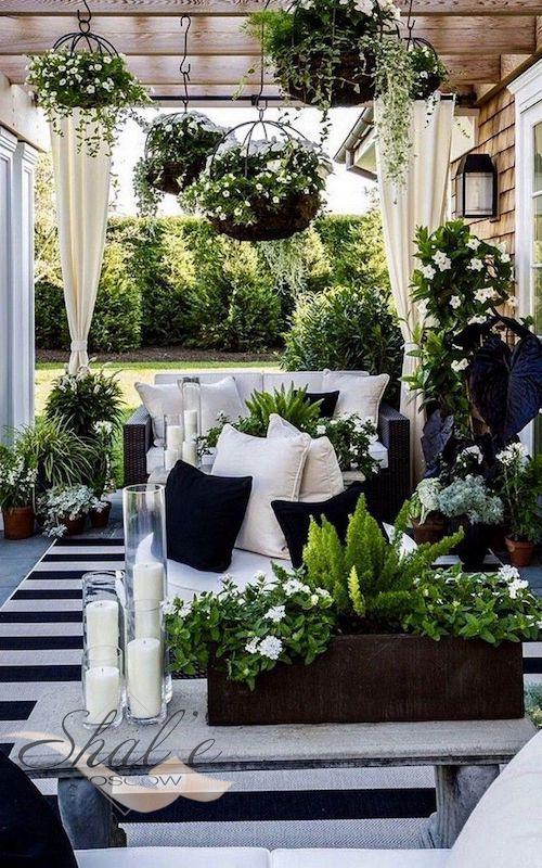 Шторы для зимнего сада